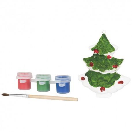 Peindre un arbre de Noël