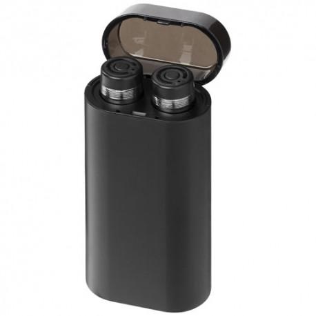 Écouteurs Glow sans fil avec batterie de secours lumineuse