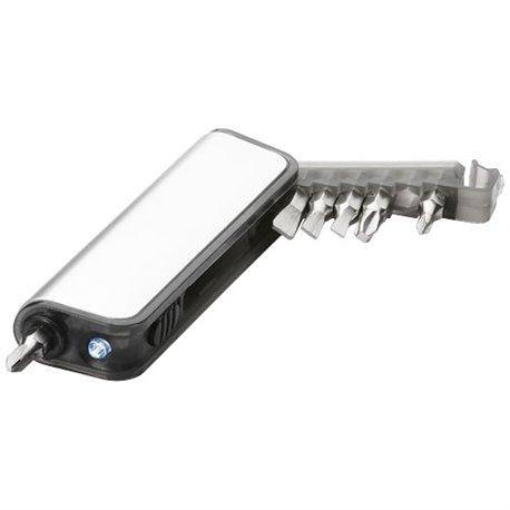 Mini set tournevis avec lumière clignotante 7 fonctions Reno