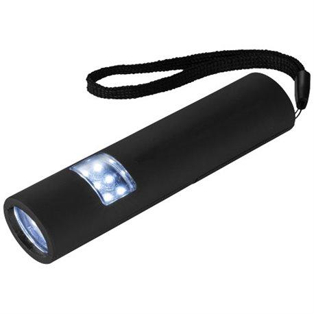 Mini lampe de poche poignée magnétique fine et LED