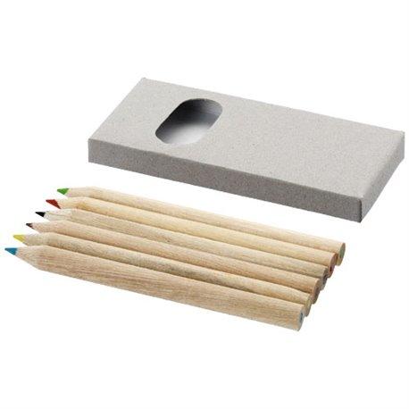 Set de 6 crayons de couleur