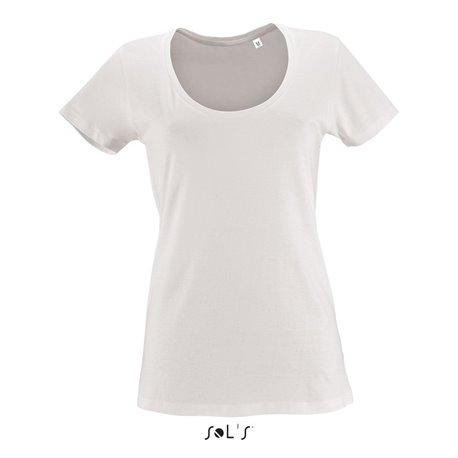0f73b7cf262 Tee-shirt femme col rond décolleté METROPOLITAN
