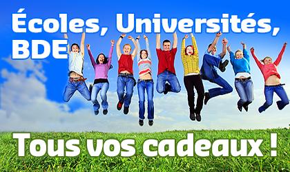Goodies pour Universités
